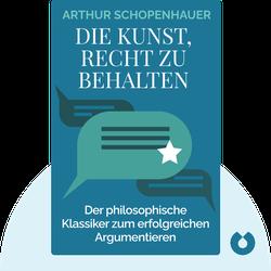 Die Kunst, Recht zu behalten by Arthur Schopenhauer