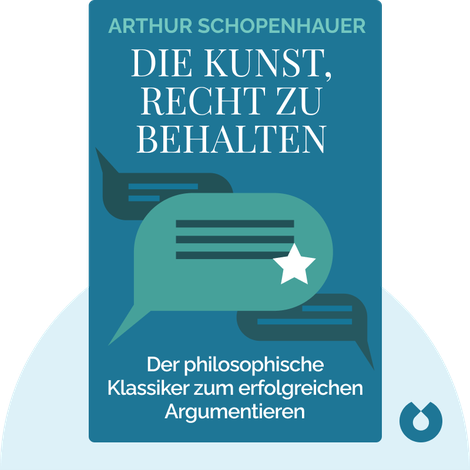 Die Kunst, Recht zu behalten von Arthur Schopenhauer