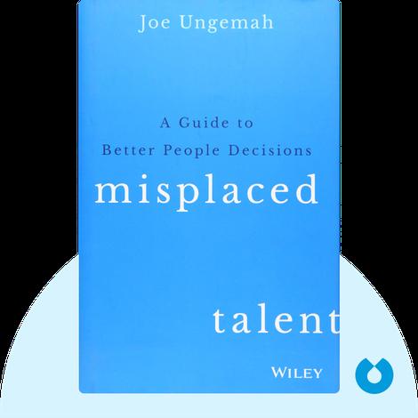 Misplaced Talent von Joe Ungemah