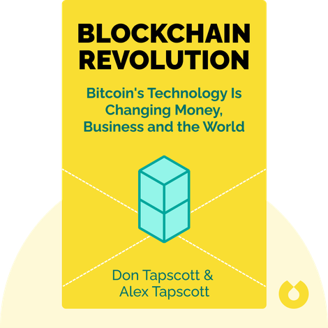Blockchain Revolution by Don Tapscott and Alex Tapscott