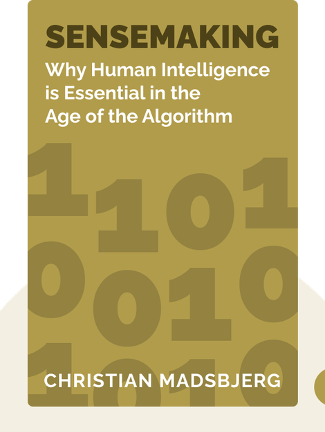 Sensemaking: What Makes Human Intelligence Essential in the Age of the Algorithm von Christian Madsbjerg