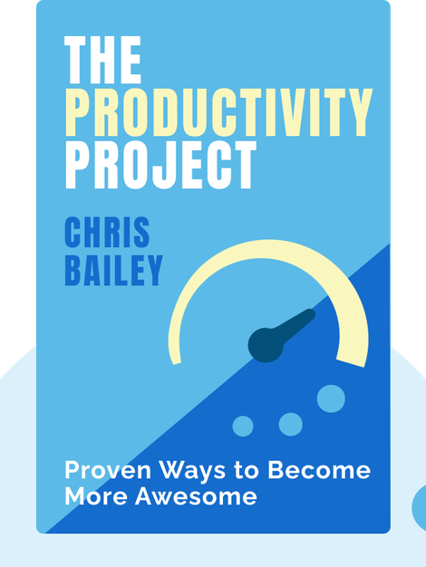 The Productivity Project: Proven Ways to Become More Awesome by Chris Bailey