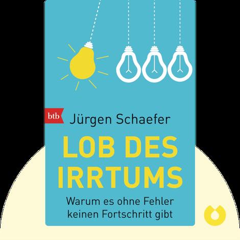 Lob des Irrtums by Jürgen Schaefer