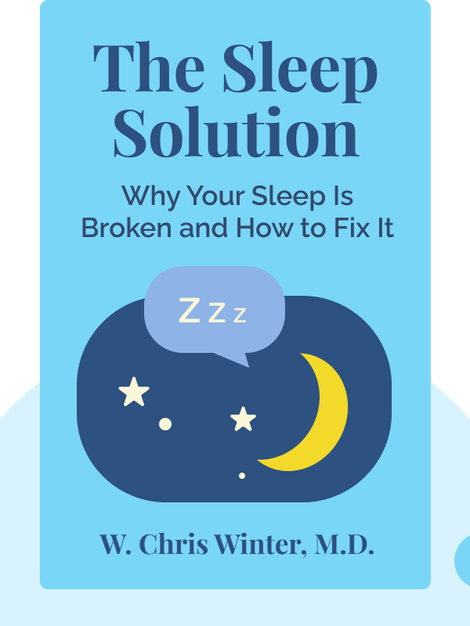 The Sleep Solution: Why Your Sleep Is Broken and How to Fix It by W. Chris Winter, M.D.