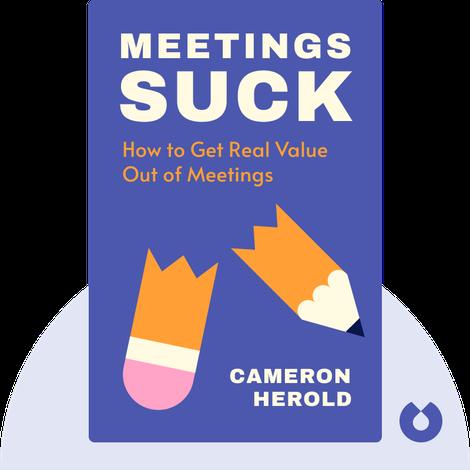Meetings Suck von Cameron Herold