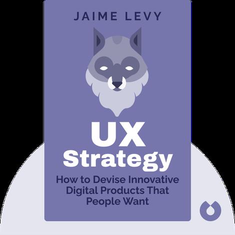 UX Strategy von Jaime Levy