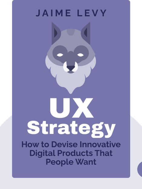 UX Strategy: How to Devise Innovative Digital Products That People Want by Jaime Levy