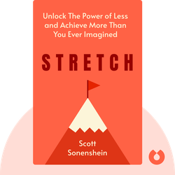 Stretch: Unlock The Power of Less and Achieve More Than You Ever Imagined by Scott Sonenshein