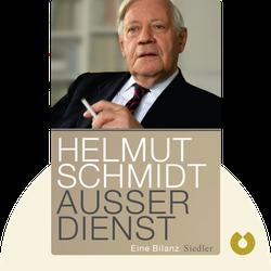 Außer Dienst: Eine Bilanz by Helmut Schmidt
