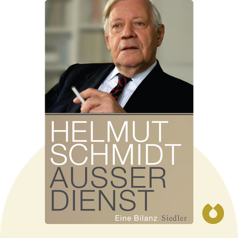 Außer Dienst by Helmut Schmidt