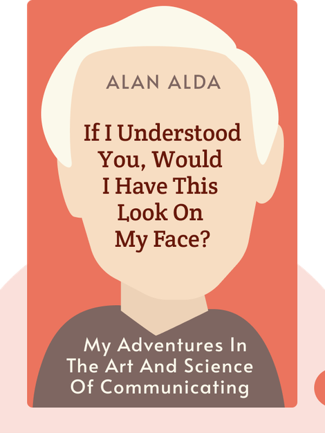 If I Understood You, Would I Have This Look On My Face? : My Adventures in the Art and Science of Relating and Communicating by Alan Alda