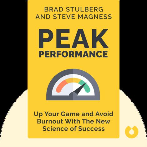 Peak Performance von Brad Stulberg and Steve Magness