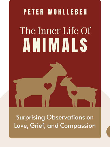 The Inner Life of Animals: Love, Grief, and Compassion – Surprising Observations of a Hidden World by Peter Wohlleben