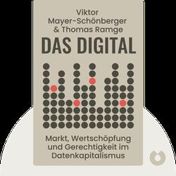 Das Digital: Markt, Wertschöpfung und Gerechtigkeit im Datenkapitalismus von Viktor Mayer-Schönberger & Thomas Ramge