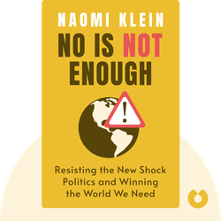 No Is Not Enough: Resisting the New Shock Politics and Winning the World We Need by Naomi Klein