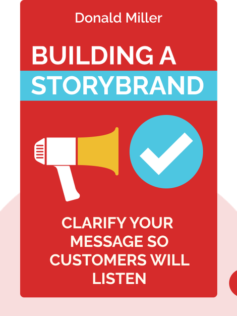 Building a StoryBrand : Clarify Your Message So Customers Will Listen by Donald Miller