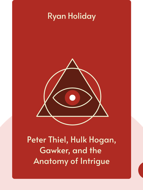 CONSPIRACY: Peter Thiel, Hulk Hogan, Gawker, and the Anatomy of Intrigue by Ryan Holiday