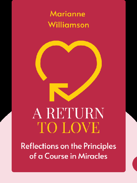A Return to Love: Reflections on the Principles of a Course in Miracles von Marianne Williamson