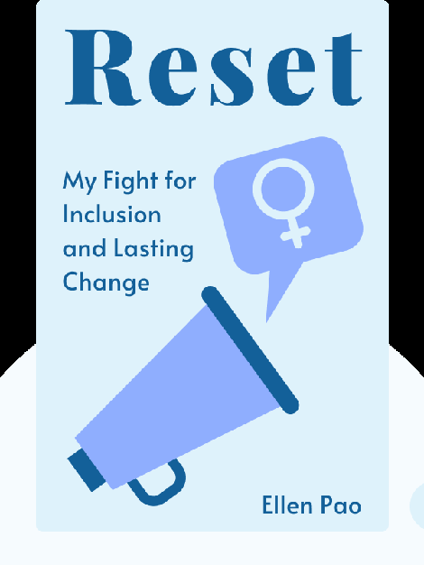 Reset: My Fight for Inclusion and Lasting Change von Ellen Pao