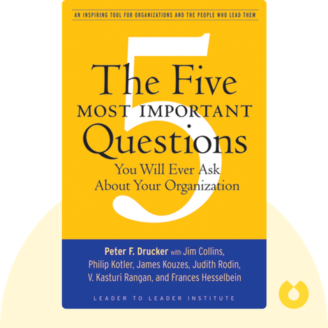 The Five Most Important Questions You Will Ever Ask About Your Organization by Peter F. Drucker