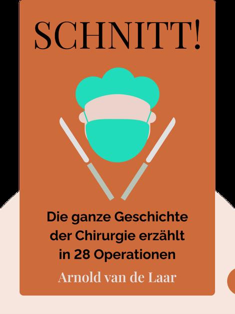 Schnitt!: Die ganze Geschichte der Chirurgie erzählt in 28 Operationen von Arnold van de Laar