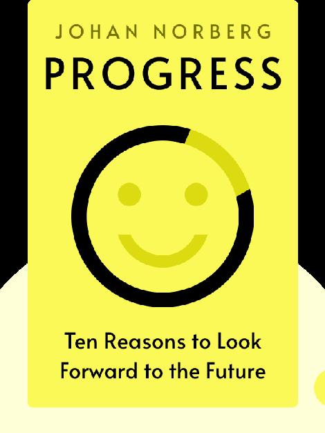 Progress: Ten Reasons to Look Forward to the Future von Johan Norberg