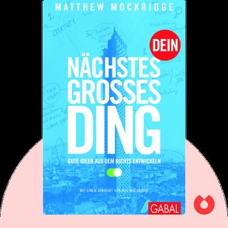 Dein nächstes großes Ding by Matthew Mockridge