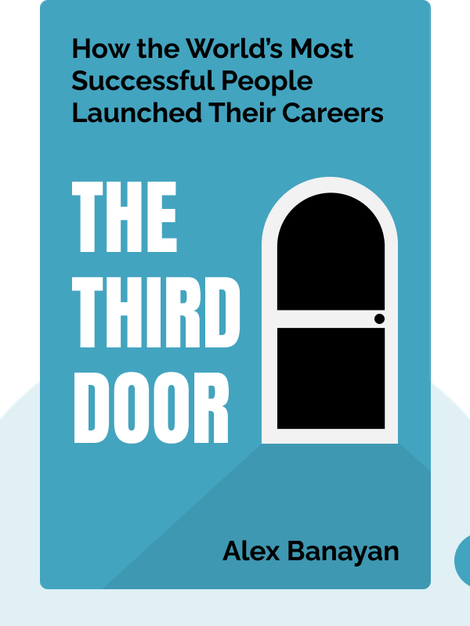 The Third Door: The Wild Quest to Uncover How the World's Most Successful People Launched Their Careers by Alex Banayan