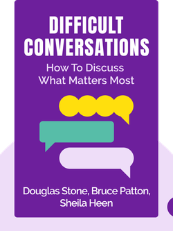 Difficult Conversations: How to Discuss What Matters Most by Douglas Stone, Bruce Patton, Sheila Heen