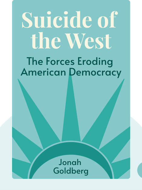 Suicide of the West: How the Rebirth of Tribalism, Populism, Nationalism, and Identity Politics is Destroying American Democracy von Jonah Goldberg