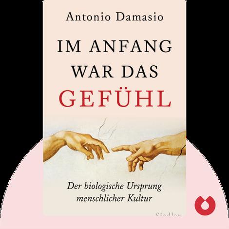 Im Anfang war das Gefühl von Antonio Damasio