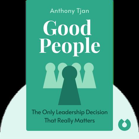 Good People von Anthony Tjan