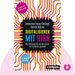 Digitalisieren mit Hirn: Wie Führungskräfte ihre Mitarbeiter für den Wandel gewinnen by Sebastian Purps-Pardigol & Henrik Kehren