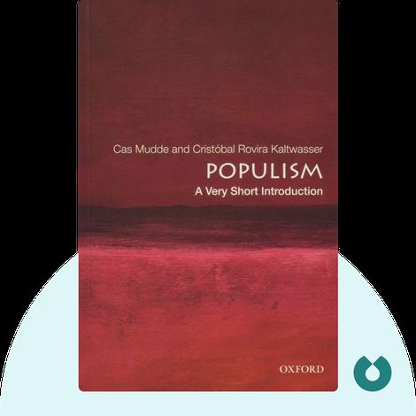 Populism by Cas Mudde and Cristóbal Rovira Kaltwasser