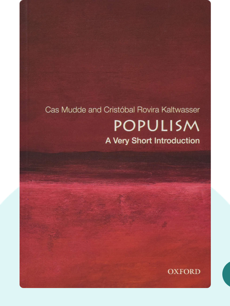Populism: A Very Short Introduction von Cas Mudde and Cristóbal Rovira Kaltwasser