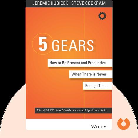 5 Gears von Jeremie Kubicek and Steve Cockram