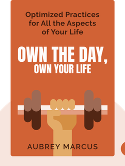 Own the Day, Own Your Life: Optimized Practices for Waking, Working, Learning, Eating, Training, Playing, Sleeping and Sex by Aubrey Marcus