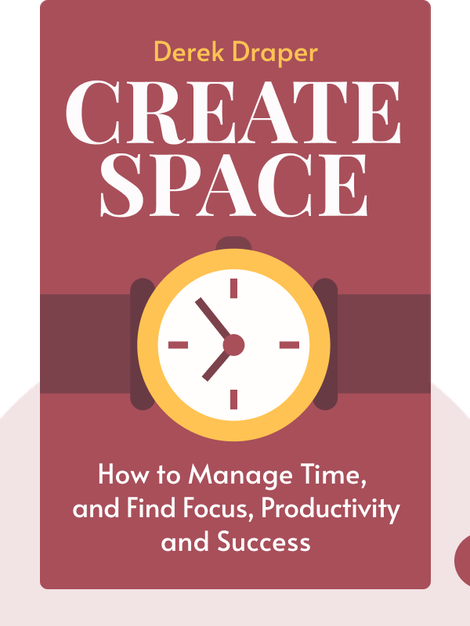 Create Space: How to Manage Time, and Find Focus, Productivity and Success von Derek Draper