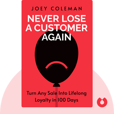 Never Lose A Customer Again by Joey Coleman