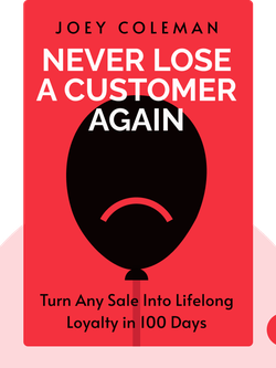 Never Lose A Customer Again: Turn Any Sale Into Lifelong Loyalty in 100 Days von Joey Coleman