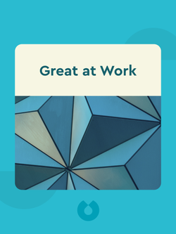 Great at Work: How Top Performers Do Less, Work Better, and Achieve More von Morten T. Hansen