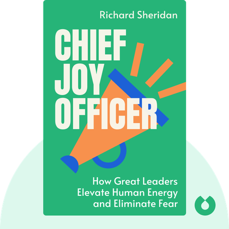 Chief Joy Officer by Richard Sheridan