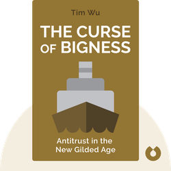 The Curse of Bigness: Antitrust in the New Gilded Age by Tim Wu