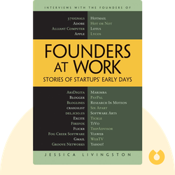 Founders at Work: Stories of Startups' Early Days von Jessica Livingston