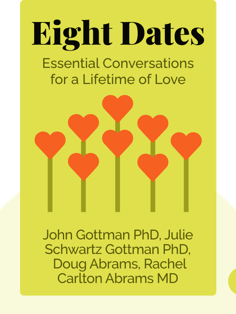Eight Dates: Essential Conversations for a Lifetime of Love by John Gottman PhD, Julie Schwartz Gottman PhD, Doug Abrams, Rachel Carlton Abrams MD