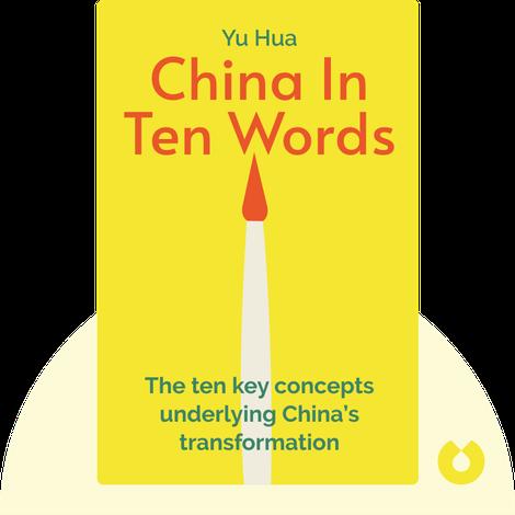 China In Ten Words von Yu Hua