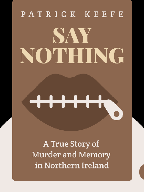 Say Nothing: A True Story of Murder and Memory in Northern Ireland von Patrick Keefe