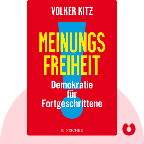 Meinungsfreiheit! von Volker Kitz