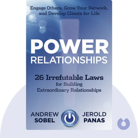 Power Relationships by Andrew Sobel and Jerold Panas