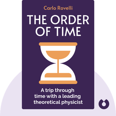 The Order of Time von Carlo Rovelli